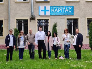 Представники «Карітасу» з Чернівців поділилися досвідом зі своїми колегами з Коломиї