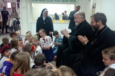 Блаженніший Святослав австралійській молоді: «Українці готові вмирати за свою країну»