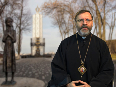 Head of the UGCC on Holodomor Remembrance Day: Ukrainians have a special mission - to tell themselves and the world: never again!