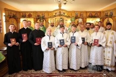 Глава УГКЦ поздравил первых выпускников Киевской Трёхсвятительской семинарии