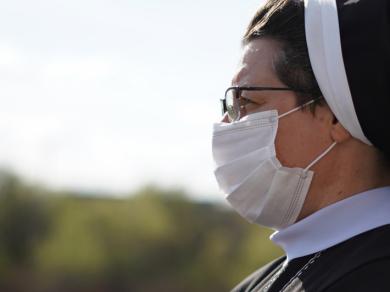 На фото – с. Севастіяна Карвацька, ЧСВВ, Голова Комісії УГКЦ у справах душпастирства охорони здоров