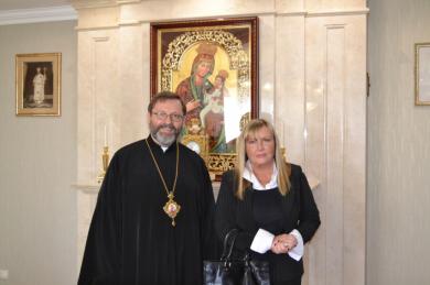 Глава УГКЦ зустрівся з новим послом Аргентини в Україні