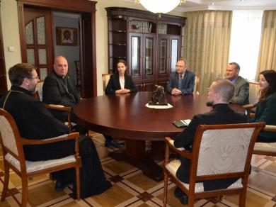 Глава УГКЦ встретился с военными капелланами войск США в Европе