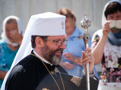 Глава УГКЦ у Трьохсвятительській семінарії: «Бути християнином означає носити Бога в собі»