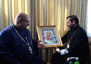 Блаженнішого Святослава запросили відвідати Джублик