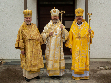 The Head of the UGCC enthroned Bishop Bohdan Dziurakh as the Exarch in Germany and Scandinavia
