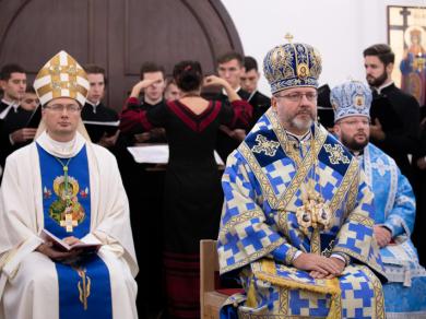 «Пресвята Богородиця є особливою покровителькою священничого покликання», – Блаженніший Святослав у семінарії