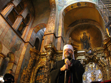 "Head of the UGCC: ""An example of the Church of the Holy Sepulcher where everyone can pray is very important in the case of Sofia of Kyiv"""