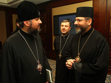 Head of UGCC: We found common ground with Metropolitan Epifaniy