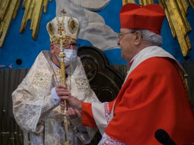 «Я среди вас тот, что служит»: вступление в должность экзарха верующих УГКЦ в Италии