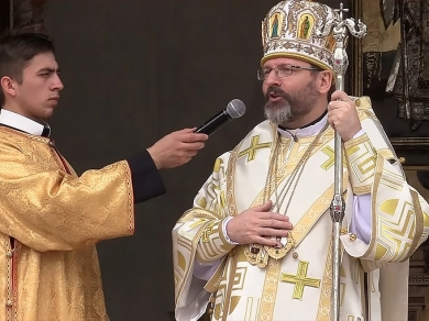 "Head of UGCC in Krekhiv: ""Today we thank God for 400 years of restoration of Basilian order"""
