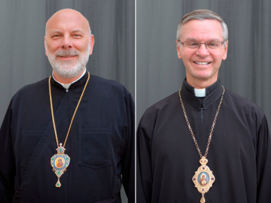 Bishop Ken Nowakowski appointed as the second ruling bishop of the Eparchy of the Holy Family in London, England