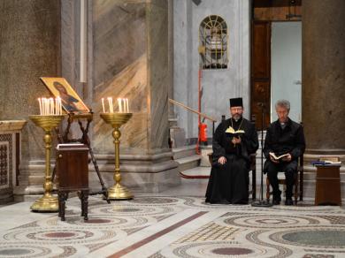Head of UGCC visited Community of Sant'Egidio in Rome
