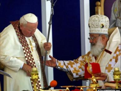 «Папа приїхав як паломник вклонитися Церкві-мучениці», – Глава УГКЦ про візит Івана Павла ІІ в Україну