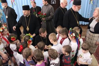 Блаженніший Святослав до працівників дитсадка «Ангелятко»: «Дякую вам за вашу працю, терпеливість і любов до дітей»