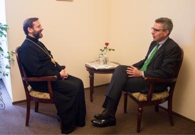 Глава УГКЦ і посол США обговорили сучасну ситуацію в Україні