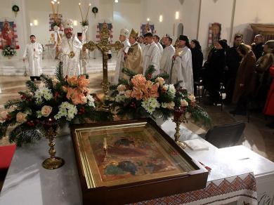 Різдво у Патріаршому соборі супроводжує особлива ікона