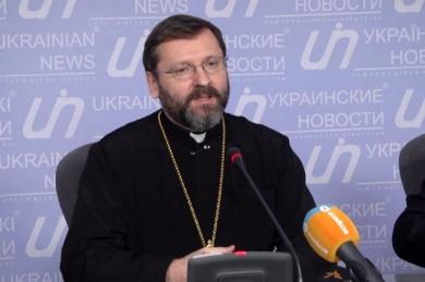 «Говорити про те, що УГКЦ підтримує певну частину українського суспільства – означає твердити, що в Україні йде громадянська війна», – Глава УГКЦ