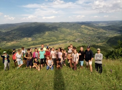 БФ «Карітас СДЄ» провів інтеграційний табір для 25 дітей