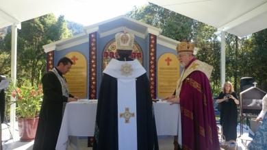 Блаженніший Святослав у Австралії освятив каплицю Покрови Пресвятої Богородиці