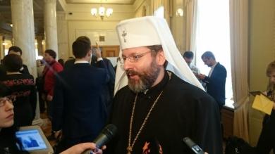 Блаженніший Святослав узяв участь у відкритті сесії новообраного парламенту