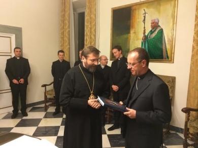 Глава УГКЦ відвідав дипломатичну академію Ватикану
