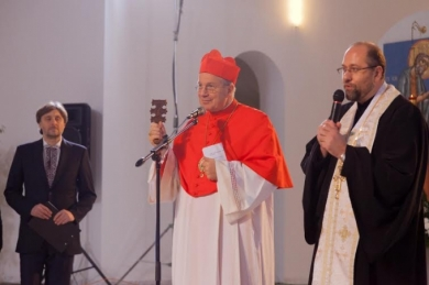 «Папа вас любить!» - папський легат до українців під час молитовних чувань в Києві