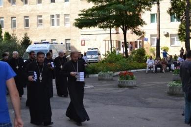 Владики Синоду УГКЦ провідали у Львові поранених військових із зони АТО