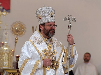 """A real freedom is a capacity to choose good"", His Beatitude Sviatoslav"