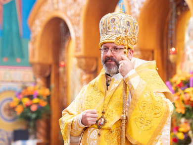 Head of UGCC called to pray for Ukraine without getting into panic