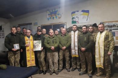 Відбулася чергова духовна місія священників Тернопільсько-Зборівської архиєпархії у зоні ОСС