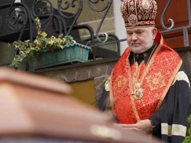 Глава УГКЦ висловив співчуття владиці Йосифові Міляну з приводу смерті його батька Степана Міляна