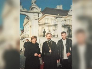 Фото з особистого архіву митрополита Ігоря Возьняка, зроблене у день хіротонії 17 лютого 2002 року