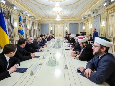Президент Зеленский попросил руководителей Церквей помочь противодействовать распространению COVID-19