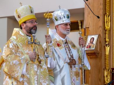 """Глава УГКЦ – верующим Филадельфии: «Господь дал вам лучшего из епископов, скажите """"да"""" всем его инициативам»"""
