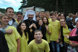 Young people have a chance to ask  His Beatitude Sviatoslav