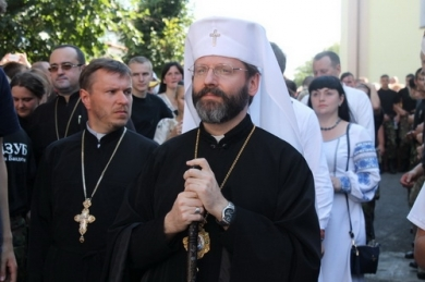 """The one who lives in truth will be the victor,"" His Beatitude Sviatoslav to youth in Zarvanytsia"