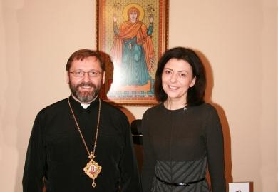 Глава УГКЦ розповів Оксані Сироїд, як Церква допомагає українському війську