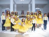 На фото - Дитячий музичний гурт «Ключики»